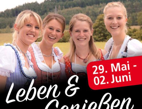 Leben & Genießen 29. Mai – 02. Juni